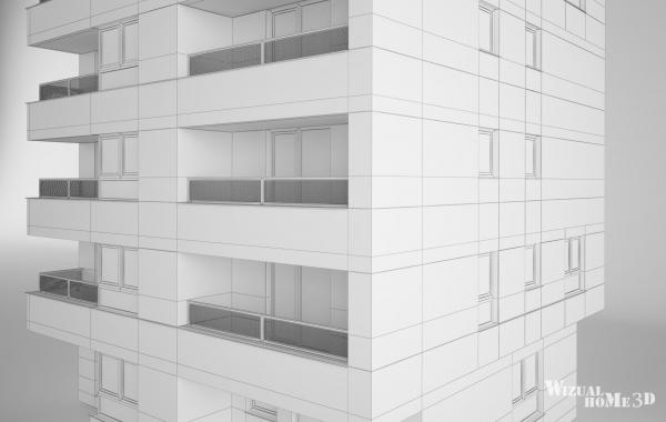 modelowanie 3d budynkow